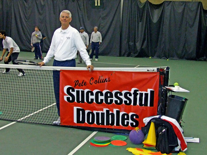 Pete Collins Tennis Clinics Gallery