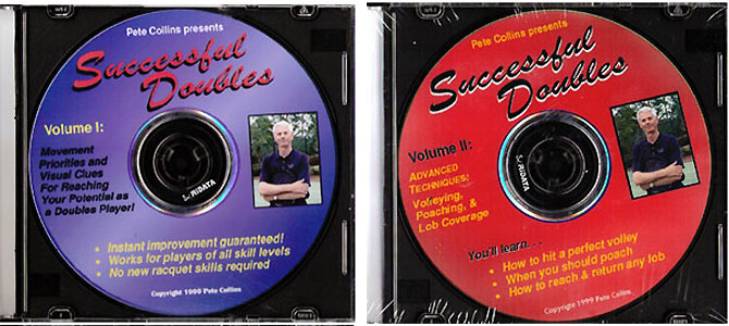 Successful Doubles Tennis DVD 2 Pack